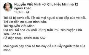 Lên Facebook đăng tin thất thiệt mình bị mắc Covid-19 ở Sơn La