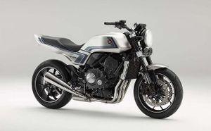 Tưởng nhớ mẫu xe huyền thoại CB900F, Honda ra mắt CB-F concept theo phong cách retro