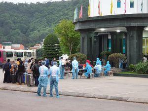 Đưa 195 công dân Việt Nam trở về từ Nhật Bản về khu cách ly tập trung