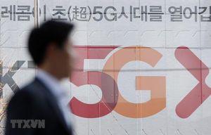 Hàn Quốc tiếp tục tăng cường sự hiện diện trên thị trường 5G toàn cầu