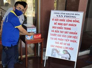 Tuổi trẻ Khánh Hòa chung tay phòng chống dịch COVID-19