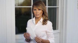 COVID-19: Bà Melania Trump đăng ảnh khuyến khích đeo khẩu trang