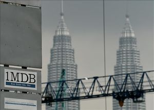 Mỹ trả lại Malaysia 300 triệu USD thất thoát từ Quỹ 1MDB