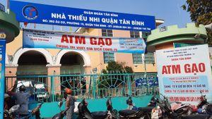 Thêm một máy 'ATM gạo' được lắp đặt tại quận Tân Bình