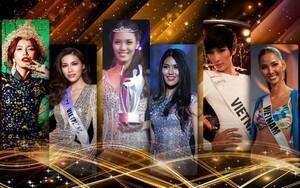 Lan Khuê - Hoàng Thùy - Minh Tú 2 lần thi quốc tế: Giật giải Top Model, in-top hoa hậu Big 5