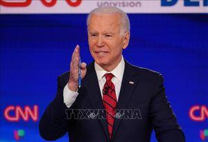 Ứng cử viên Joe Biden tiếp tục nhận được cam kết ủng hộ