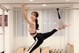 HLV thể dục 'mặt thiên thần, body nóng bỏng' nổi tiếng Hàn Quốc