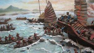 Hải chiến chống giặc Ô Lan của Thế tử Dũng Lễ Hầu