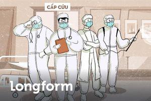 Y bác sĩ tuyến đầu chống dịch - những 'siêu anh hùng' giữa đời thực
