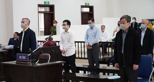 Y án cựu Bộ trưởng Nguyễn Bắc Son, các bị cáo khác đều được giảm án