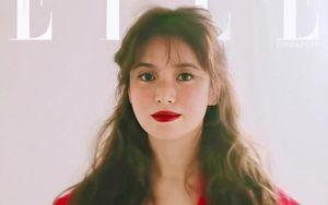 Song Hye Kyo bị chê kém sắc khi trang điểm quá đậm trên tạp chí
