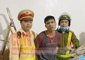 Sơn La: Đối tượng mang ma túy dạo phố bị CSGT tóm gọn