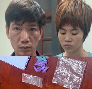 Cặp tình nhân bán ma túy sa lưới pháp luật