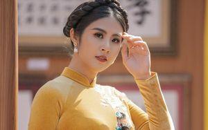 Hoa hậu Ngọc Hân bức xúc vì bị 'ăn cắp' mẫu thiết kế rồi bán với giá rẻ tiền