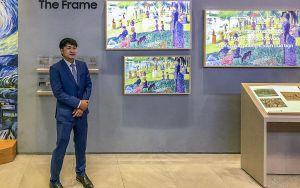Samsung mang đến trải nghiệm thực tế TV QLED 8K, The Frame, The Serif và The Sero 2020