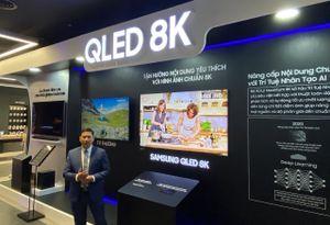 TV xịn nhất của Samsung đang được trưng bày tại Samsung 68