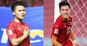 Quang Hải và Tiến Linh nhận lời khen từ bộ phận chuyên môn của AFC