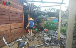 Mưa đá, giông lốc gây thiệt lớn tại Bắc Quang và Bắc Mê (Hà Giang)