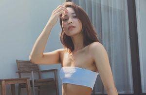 Bạn gái tay vợt Lý Hoàng Nam khoe vòng eo 61