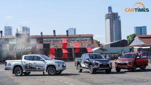 Mitsubishi Triton giảm giá cả trăm triệu đồng, xả kho phiên bản cũ