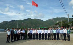 Khánh thành cột cờ Tổ quốc tại huyện Côn Đảo
