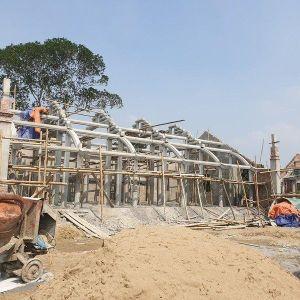 Phạt 110 triệu đồng, yêu cầu tháo dỡ chùa 'triệu đô' xây chui
