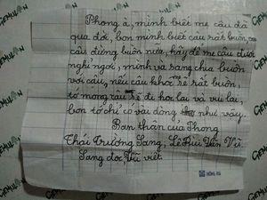 Bức thư tay khiến bao người bật khóc: Sự quan tâm chính là siêu năng lực chữa lành