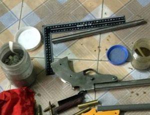 Trốn truy nã về Hải Phòng mở xưởng sản xuất súng