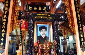 Văn thư triều Nguyễn viết gì về anh hùng Nguyễn Trung Trực?