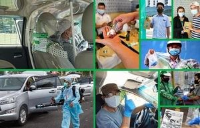 Nâng cao tiêu chuẩn an toàn và vệ sinh cho dịch vụ đặt xe công nghệ với GrabProtect
