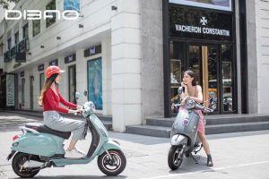Review hai mẫu xe máy điện mới nhất của Dibao