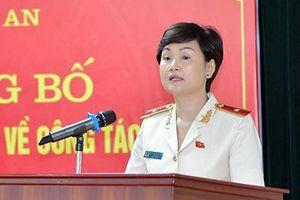 Thiếu tướng Ngô Thị Hoàng Yến được bổ nhiệm cục trưởng