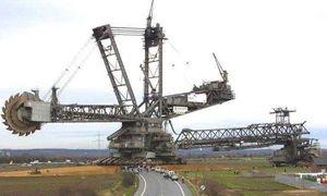 Cận cảnh cỗ máy 'quái vật' đào đất lớn nhất thế giới