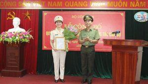 Nữ Thiếu tướng giữ chức Cục trưởng Cục Hồ sơ nghiệp vụ