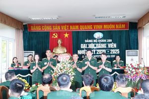 Đoàn 285 tổ chức 43.800 ca gác vũ trang tại Khu di tích K9