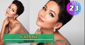 H'Hen Niê vượt mặt Phạm Hương trong top 50 Hoa hậu Hoàn vũ đẹp nhất thập kỷ
