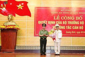 Tân Phó giám đốc Công an tỉnh Quảng Bình là ai?