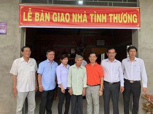 Báo ĐTTC trao nhà tình thương cho các hộ nghèo huyện Ba Tri - Bến Tre
