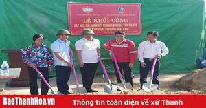 Khởi công xây nhà đại đoàn kết cho hộ nghèo