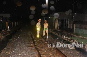 Tai nạn đường sắt tại TP.Biên Hòa, một cụ bà tử vong