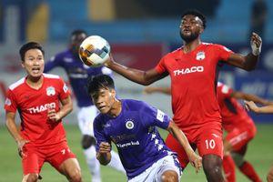 V-League sau 4 vòng: Hà Nội FC bước hụt, HAGL chưa tạo đột phá