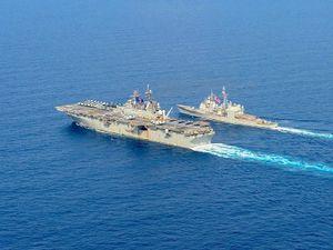 Thủy thủ Mỹ vạch trần tham vọng Biển Đông của Trung Quốc