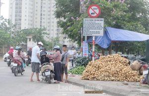 Xử lý vi phạm trên phố Cương Kiên sau phản ánh của báo Lao động Thủ đô