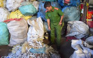 Thu gom rác thải y tế để… tái chế