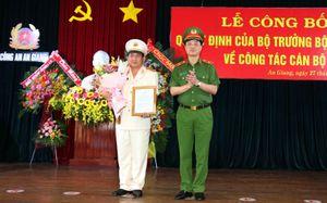 Đại tá Đinh Văn Nơi giữ chức vụ giám đốc Công an An Giang