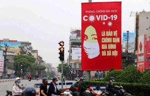 Tranh cổ động của Việt Nam như vũ khí 'đập tan' Covid-19