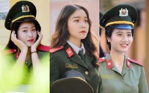 Những 'bóng hồng' vừa xinh đẹp lại vừa tài năng của Học viện An ninh Nhân dân