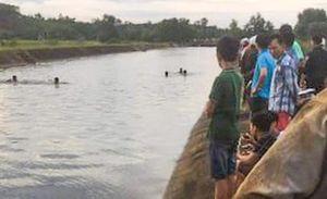 Cảnh sát lặn tìm thi thể nam sinh lớp 7