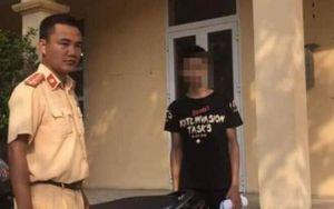 Nam thanh niên bị phạt nặng vì khoe bốc đầu xe máy trên facebook