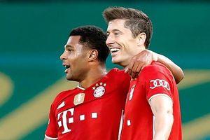 Lewandowski ghi bàn thứ 51 giúp Bayern vô địch cúp quốc gia Đức